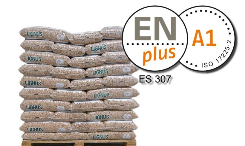 Lignus Pellets revalida su sello ENplus®