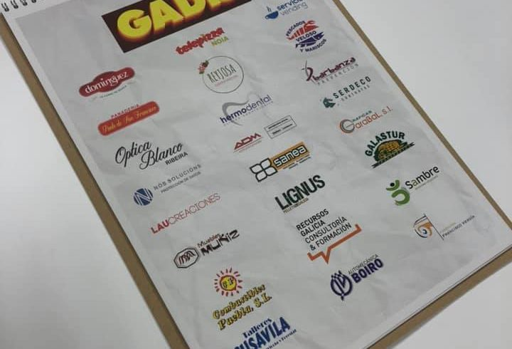 Lignus Pellets de Galicia colabora con el calendario solidario de AMICOS