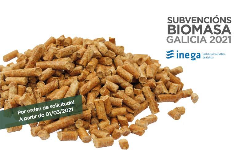 Subvencións Biomasa Galicia 2021